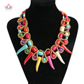 Fashion african jewelry charm wedding necklace for women african necklace evening party female jewelry WYA165