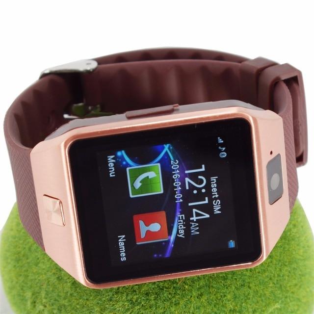 cffc4c18c8548 Reloj inteligente para android bluetooth podómetro Deporte Apoyo Whatsapp  SmartWatches para huawei xiaomi Teléfono Cámara Calculadora