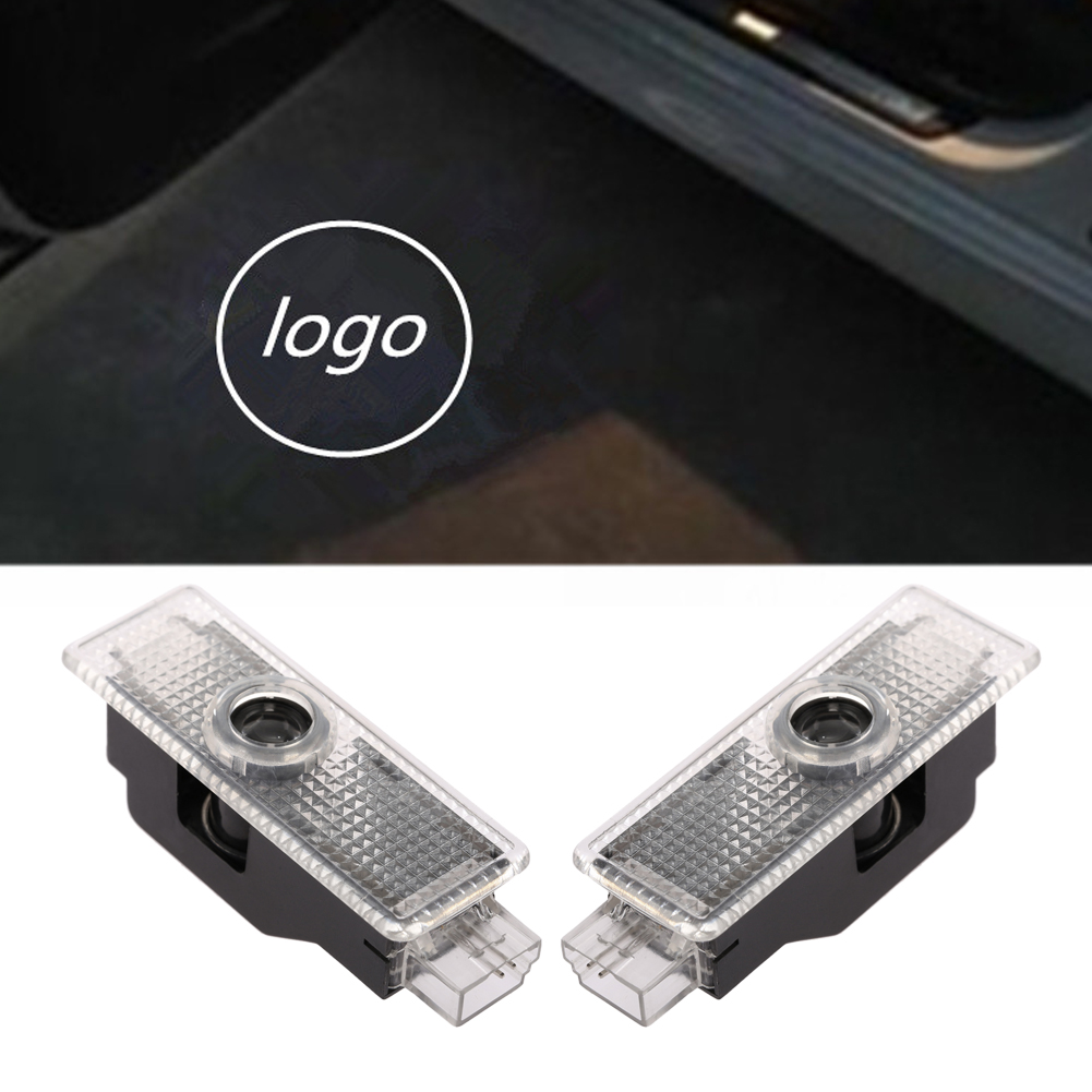 2pcs LED Car Door Welcome Light Courtesy Laser Projector Logo Ghost Shadow Light for BMW F30 F07 GT F12 F13 E66 E67 E68 F01 F02