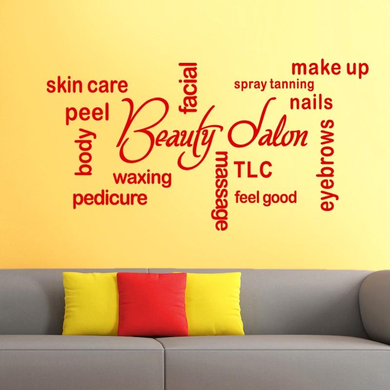 Funky Beauty Salon Wall Decor Image - Wall Art Collections ...