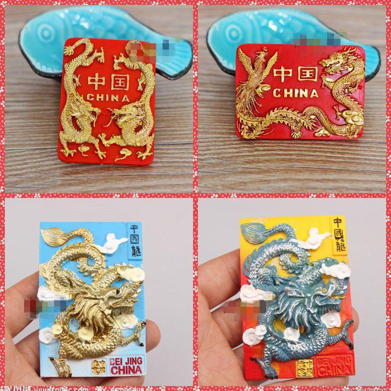 Transporti falas 1pc Kineze Tradicionale Kuzhine Kuzhina Shifrat Magnet lodra makine shtëpi zyre shtëpi dekoratë frigorifer fëmijët dhurata të Krishtlindjeve