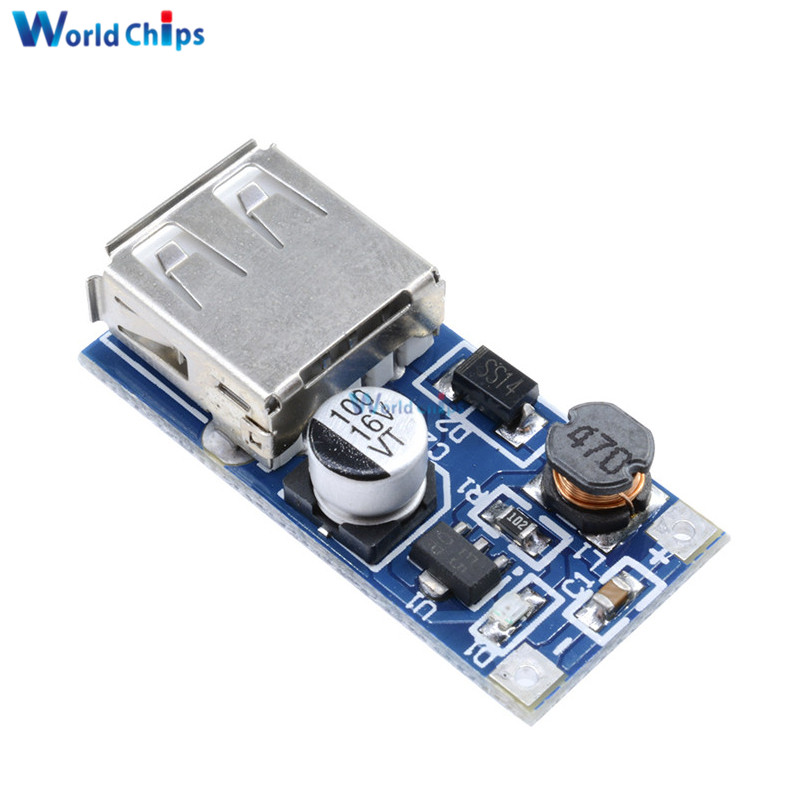 Dc-dc Usb Step-up Power Boost Module 0.9v-5v To 5v 600ma Pfm Control Mini Mobile Booster Elegant Shape Integrated Circuits Electronic Components & Supplies High Conversion