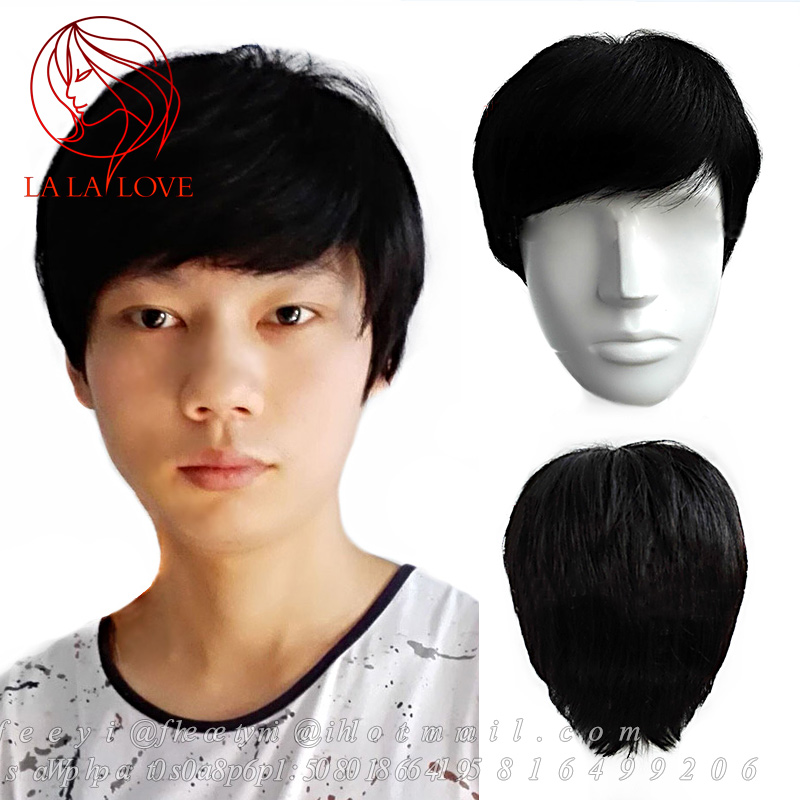 Male Wigs Real Hair 74