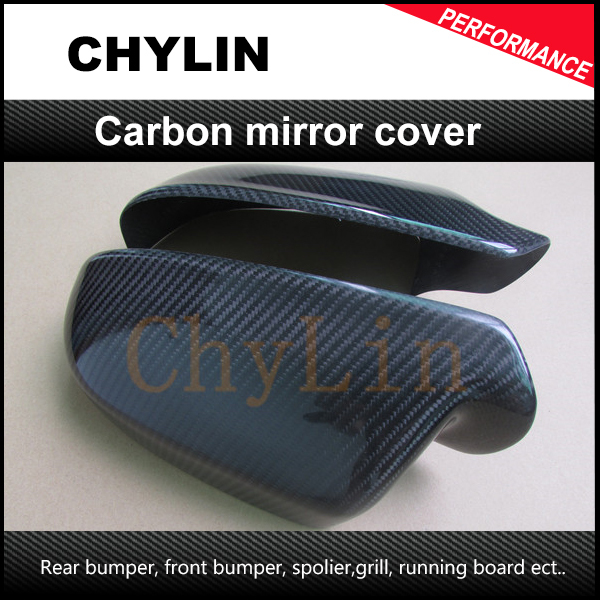 ФОТО High quality Carbon Fiber material Auto Car Mirror Cover Mirror Cap for Audi A5