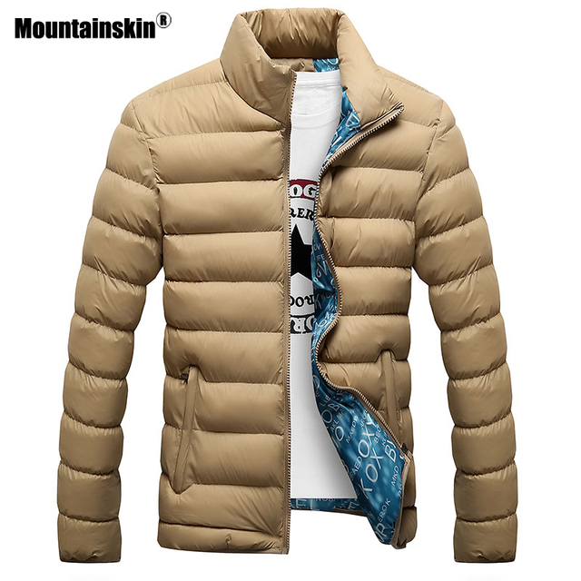 Mountainskin Winter Men Jacket 2018 Brand Casual Mens Jackets And Coats Thick Parka Men Outwear 4XL Jacket Male Clothing,EDA104 2