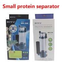 Séparateur de protéines écumeur de protéines d'eau Pump100-150L accessoires d'aquarium d'eau salée Marine 220 V WG-308 6 W/WG-310 8 W