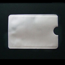 Protetor de cartão de crédito antiscan rfid, protetor seguro de cartão de identidade para cartão de crédito, sem contato bloqueador
