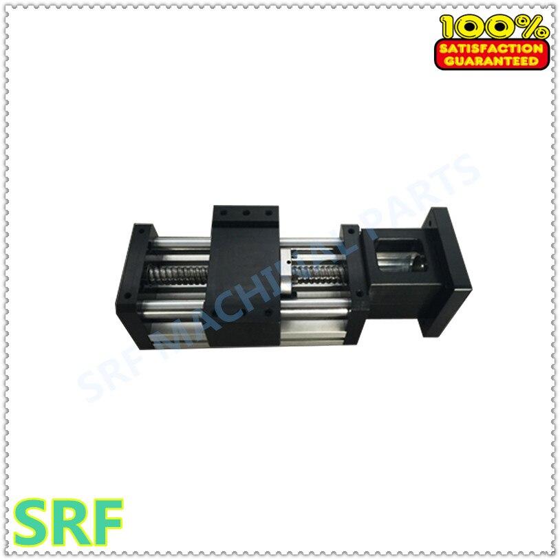 90 type axe optique électrique module de table coulissante linéaire table coulissante manuelle vis à billes 1605 tige bras mécanique table élévatrice - 2