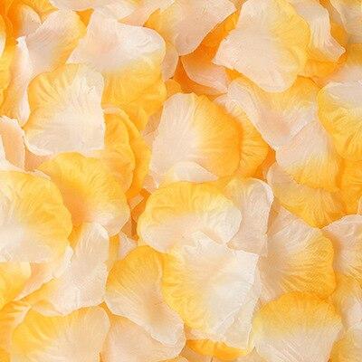 2000pcs/lot Wedding Party Accessories Artificial Flower Rose Petal Fake Petals Marriage Decoration For Valentine supplies 35