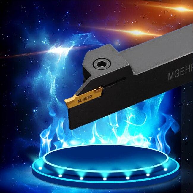 Utensile di tornitura MGEHR1616-3, 1.5mm, 2mm, 4mm, 3mm, 5mm, tornitura esterna, sbozzare, scanalatura, cnc, Meccanico tornio, di taglio, speciale