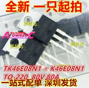 Image 5 - Aoweziic 100% neue importiert original TK10A60W K10A60W TK18A50D K18A50D TK39A60W K39A60W TO 220F TK46E08N1 K46E08N1 transistor