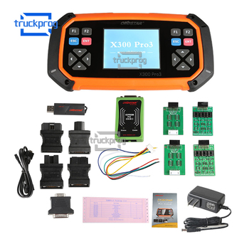OBDSTAR X300 X-300 Pro3 Key Master OBDII Mileage Correction IMMO EEPROM/PIC Support G/H Chip Key Lost Auto Key Programmer tool