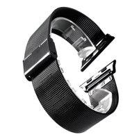 38 ملليمتر/42 ملليمتر watchbands ل أبل ساعة iwatch milanese المقاوم للصدأ وصلة سوار المعصم الشريط لاستبدال ساعة