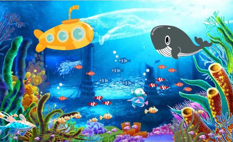32 Gambar Kartun Taman Laut Gambar Kartun Ku