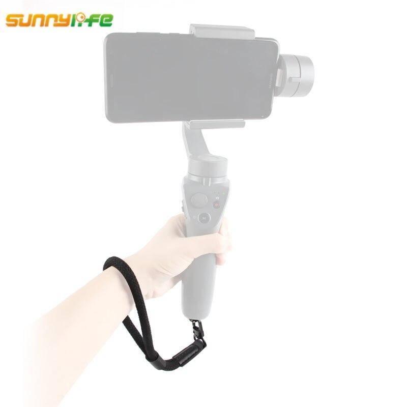 Sunnylife Poignet Dragonne Ligne de Sécurité Sling Lanière pour DJI OSMO Mobile 2 De Poche Cardan Lisse 4 pour Gopro Caméra adaptateur
