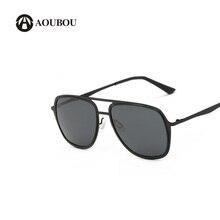 Gafas de sol polarizadas de hombres, gafas de sol clásicas tipo piloto de acero inoxidable súper elásticas y redondas llenas de color para hombres, gafas de sol de hombre 6215