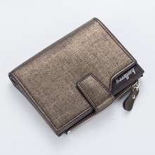 High Quality Leather Short Wallet Casual Men Wallet Purse Dollar Price Standard Card Holders Wallets For Men flying birds short wallets women dollar price leather wallet clutch purse women bags high quality credit card bag lm4243fb