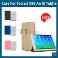 Para teclast X98 Air 3 caso PU Couro Caso capa Protetora Para X98 teclast X98 Air III plus de 9.7 polegadas Tablet PC + free 2 presentes
