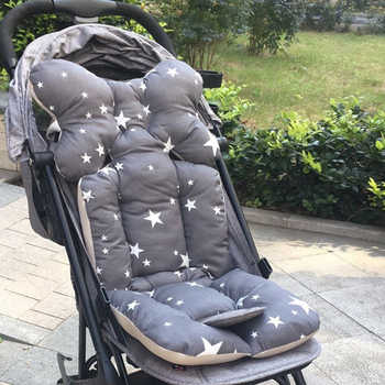 Baby Stroller Seat Cushion Car Seat Pad Cotton Mattresses Pillow Infant Carriage Cart Thicken Soft Pad Trolley Chair Cushion - DISCOUNT ITEM  45% OFF All Category