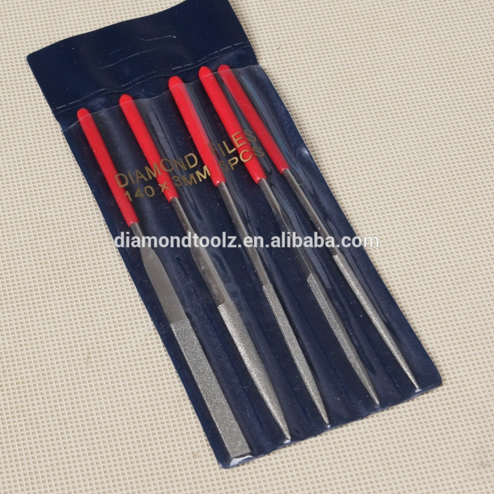 Talentool 5pcs / set 3 * 140mm Craft Tools Lime ad ago con - Utensili abrasivi - Fotografia 1
