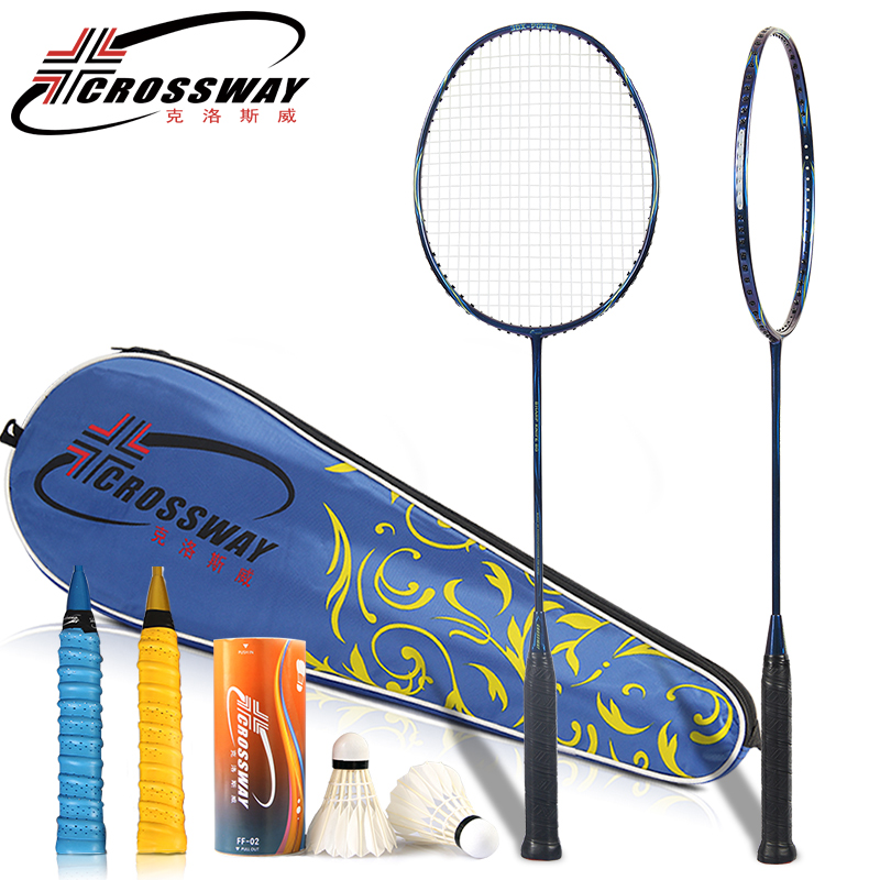 racket 2018 4u badminton racket Newest Up to 24-28LBS  carbon badminton racket With badminton bag