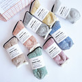 New Women Winter Candy Colors Soft Warm Fluffy Bed Socks Thickening Bow Thermal Sokken Cute Socks