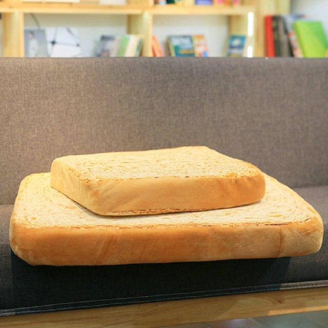 Creative Toast Bread Plush Pillow 1