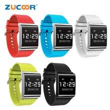 Smart Браслет Группа сердечного ритма часы браслет ZB97 Приборы для измерения артериального давления кислорода Мониторы Bluetooth напоминание для IOS Android Для женщин