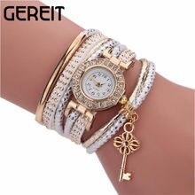 093709305f02 Boho flor cristal cerradura multicapa pulsera de reloj pulsera mujeres  encanto Pulseras y brazaletes Vintage amor Pulseras mujer.