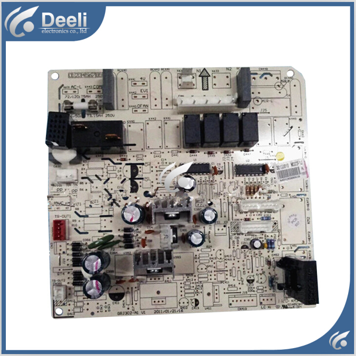 95% new good working fo air conditioner motherboard m303f1j 30133010 circuit board pc board grj302-a1 on sale цена и фото