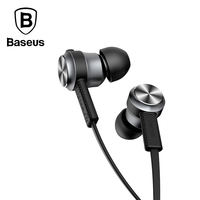 Baseus Fashion In Ear Stereo Earphone For IPhone 6 Samsung 3 5mm Aux Jack Sport Running