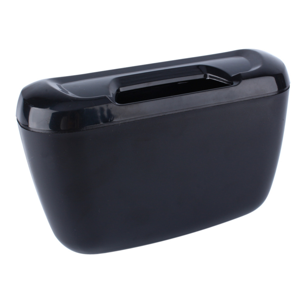 auto car car environment easy hanging cargo trash can mini garbage bin storage holder box. Black Bedroom Furniture Sets. Home Design Ideas