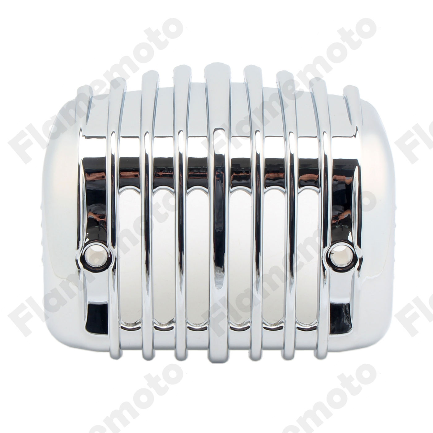 Motorcycle Parts Chrome Voltage Regulator Cover For Harley Heritage Softail Classic FLSTC 2001 2002 2003 2004 2005 2006-2017 chrome custom motorcycle skeleton mirrors for harley davidson softail heritage classic