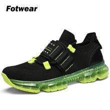 Men fashion trend sneakers Sapato masculino Full air cushion footwear Tenis Feminino Zapatos Walking Sneakers Outdoor trainner