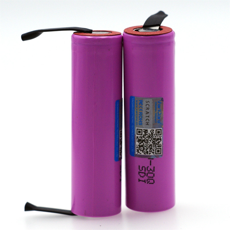 Image 4 - VariCore  New INR18650 30Q 18650 3000mAh lithium Rechargeable battery +DIY Nickel batteries-in Replacement Batteries from Consumer Electronics