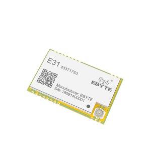 Image 4 - Ax5243 433 mhz tcxo ebyte E31 433T17S3 iot uart 무선 트랜시버 ipex 스탬프 홀 커넥터 wor 송신기 및 수신기