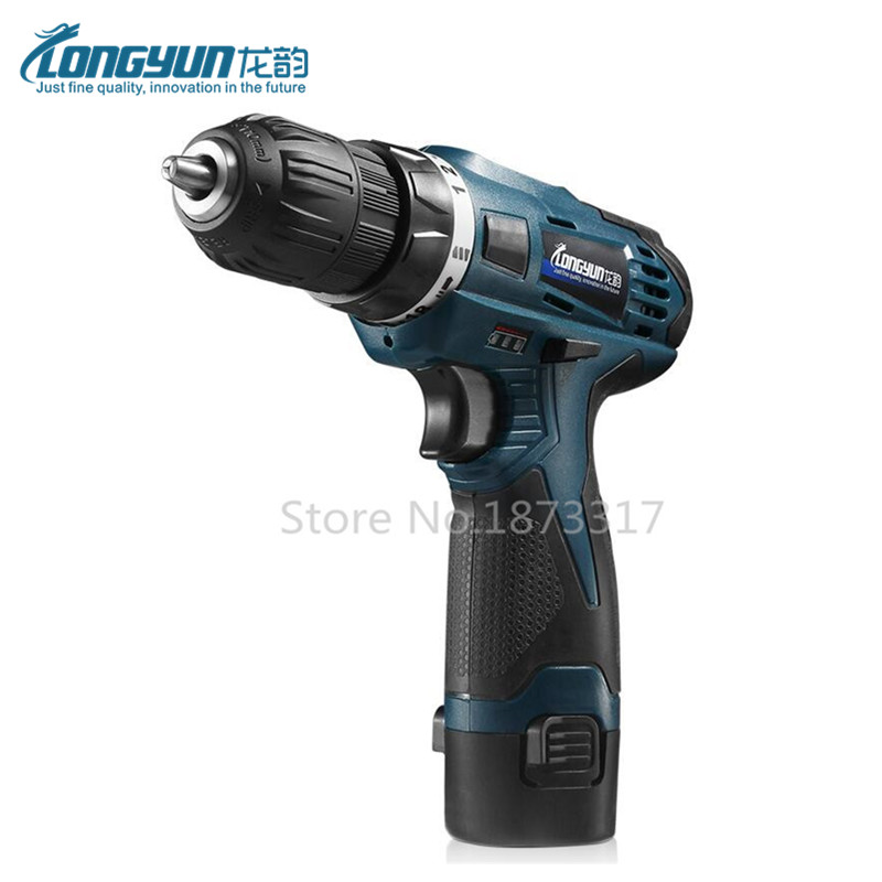 12V Electric Screwdriver Parafusadeira Furadeira Rechargeable Lithium Battery Multi function Cordless Electric Drill Power font b