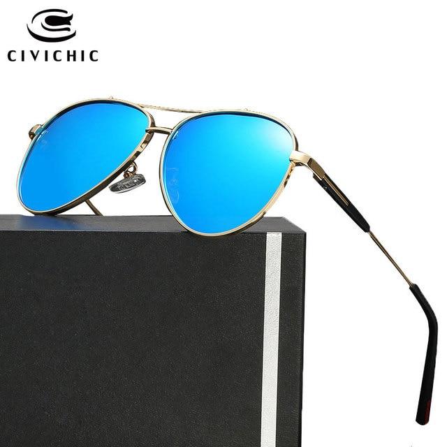 ac2e4fa16c US $14.84 20% di SCONTO|Civichic donna di alta qualità occhiali da sole  polarizzati frog specchio occhiali uomo alla guida di occhiali hd oculos de  ...