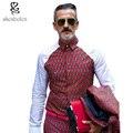 2016 осень мужские африканских одежды Батик анкара одежда рубашка хлопка сшивание топы печати человек футболка мода dashiki одежда