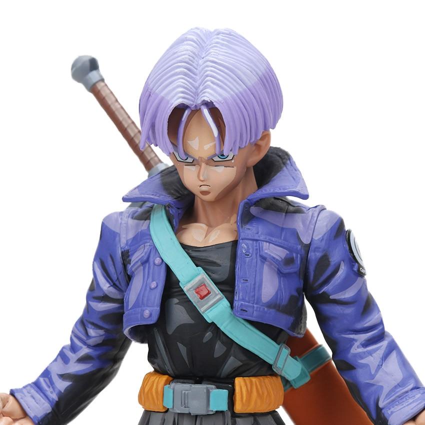 Manga Dragon Ball Z Vegeta Goku Gohan Broly Trunks Action Figures 34cm 14
