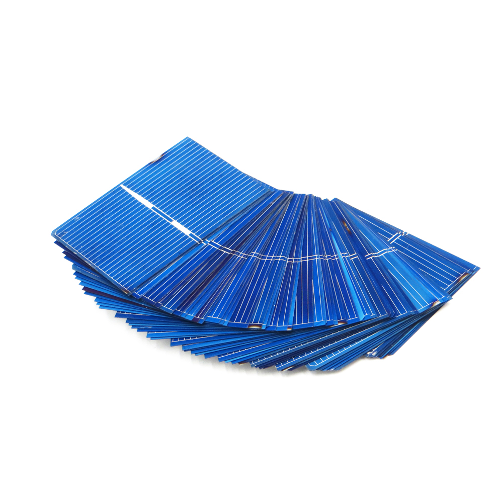 50pcs x Solar Panel Painel Cells DIY Charger Polycrystalline Silicon Sunpower Solar Bord 52*39mm 0.5V 0.33W