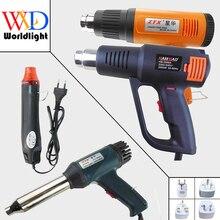 220V 300W 700W 1500W 2000W Heat Gun Industriële Elektrische Heteluchtpistool Kit Professionele Warmte guns Krimpfolie Blower Heater