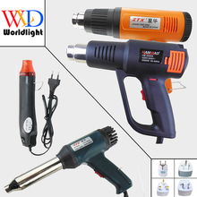220V 300W 700W 1500W 2000W Heat Gun Industrial Electric Hot Air Gun Kit Professional Heat guns Shrink Wrap Blower Heater
