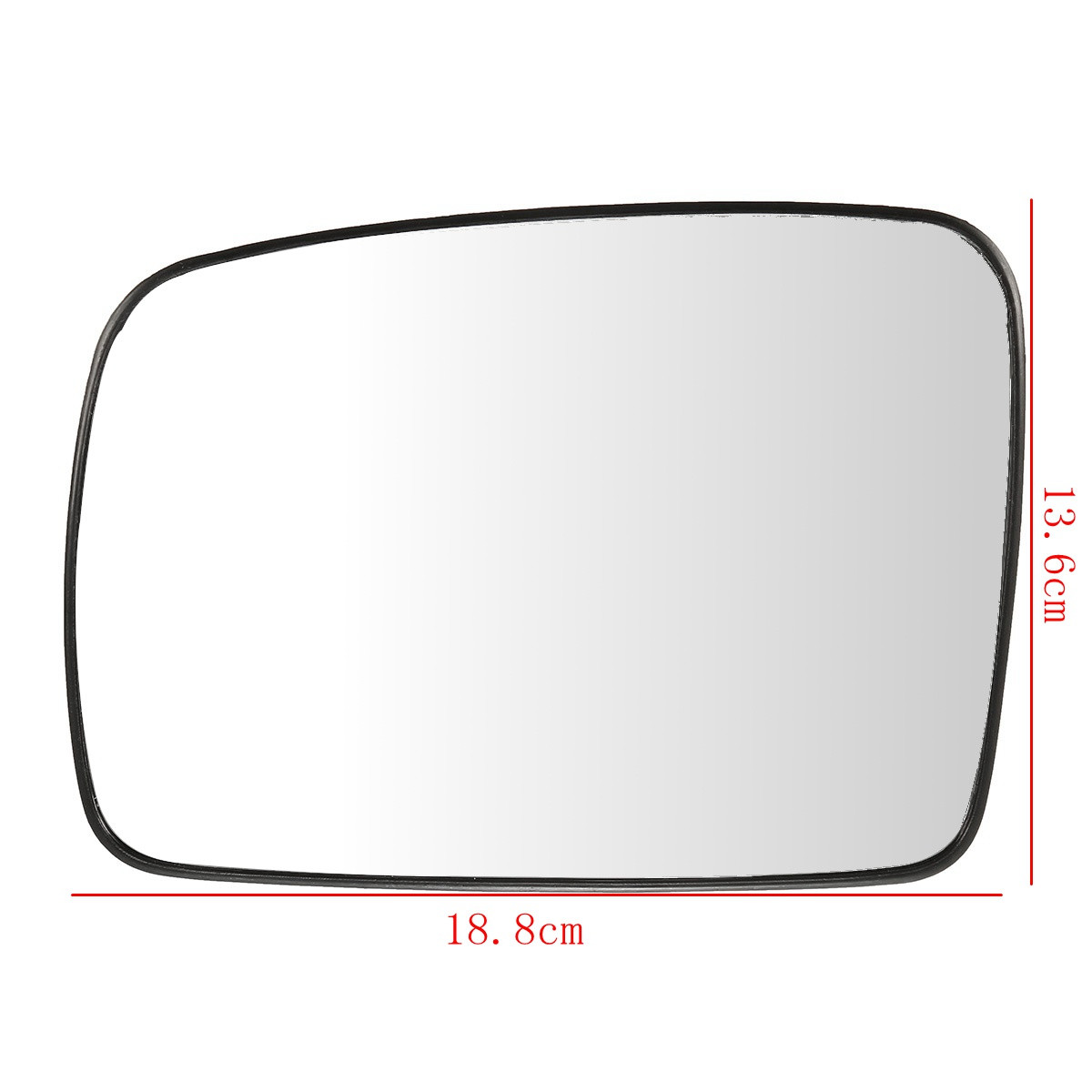 Left Passenger Near Side Wide Angle Wing Mirror Glass for HONDA FR-V 2004-2009