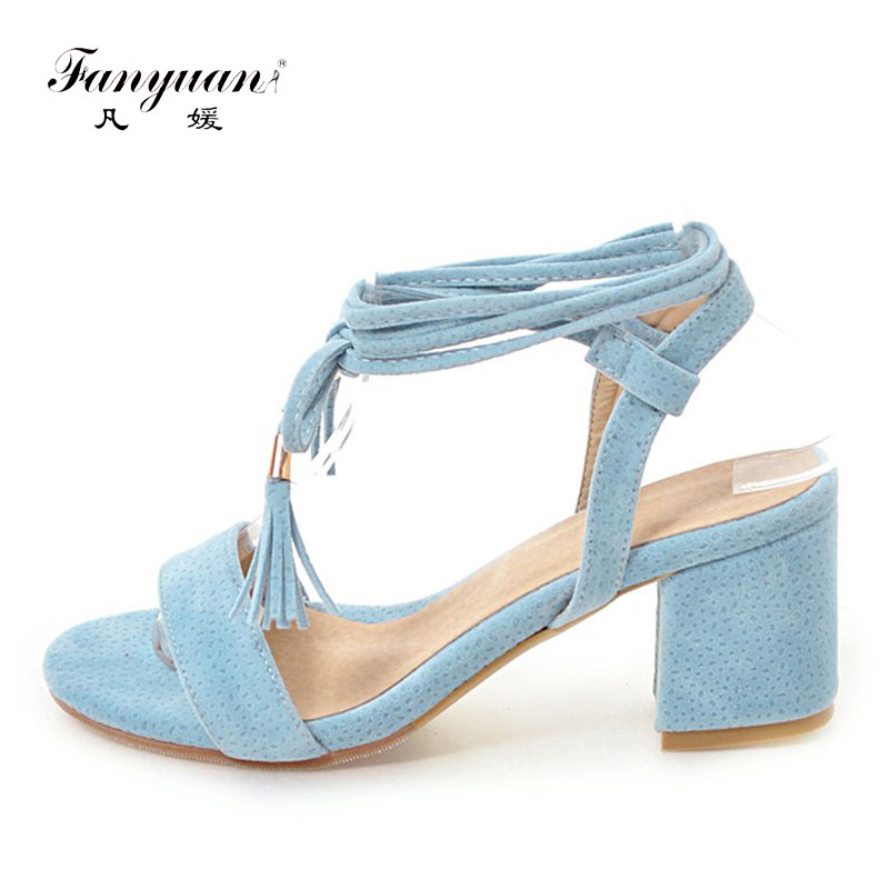 Fanyuan High Heels Sandals Women Elegant Cross Strapy Sandals Lace Up Womens Shoes Summer Fashion Ladies Red Black SandalsFanyuan High Heels Sandals Women Elegant Cross Strapy Sandals Lace Up Womens Shoes Summer Fashion Ladies Red Black Sandals