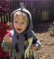 Compras libres! 2016 Nuevos niños sudaderas con capucha, 100% Algodón y de alta calidad, Lindo Animal impreso Con Cuello Redondo Al por Mayor y Al Por Menor