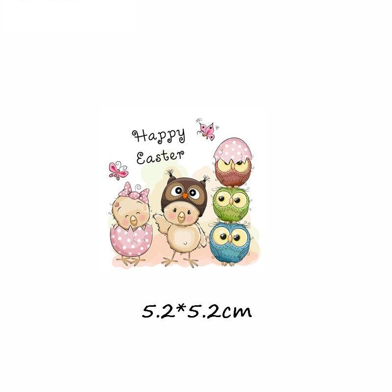 Милые маленькие животные Единорог Сова собака кошка патч для одежды стикер для детей мальчик девочка DIY патчи Футболка теплопередача Винил - Цвет: zt0183