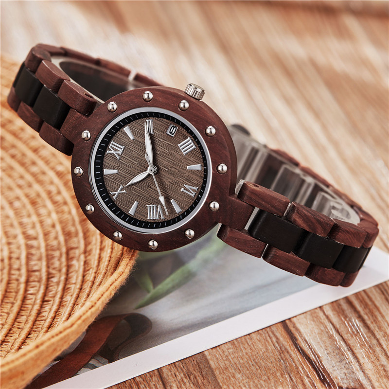 Fashion Women Wood Watch  Ladies Bracelet Watch for Ladies Simple Wooden Wrist Watch Girls Clock Gifts relogio masculinoFashion Women Wood Watch  Ladies Bracelet Watch for Ladies Simple Wooden Wrist Watch Girls Clock Gifts relogio masculino
