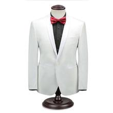 White men suits jacket custom made formal business suits jacket stylish elegant wedding groomsman dress jacket