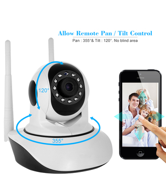 2018 Rushed Real 720p Hd V380 Ip Camera Wifi Wireless Network P2p Home Cctv Security For Sale
